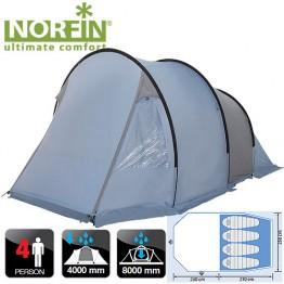 Четырёхместная палатка Norfin Kemi 4